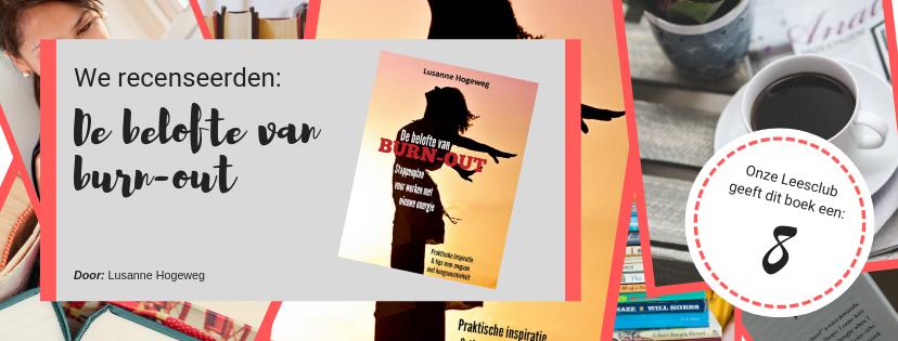 Boekrecensie: 'De belofte van burn-out'